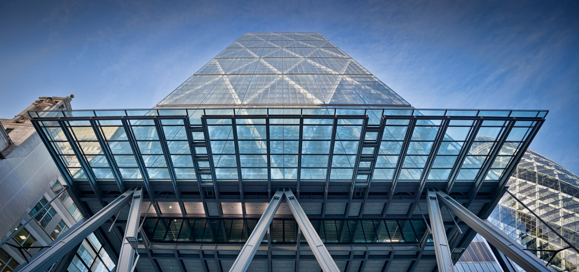 The Cheesegrater building in London